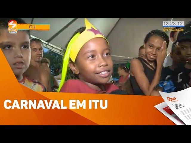 Carnaval em Itu - TV SOROCABA/SBT