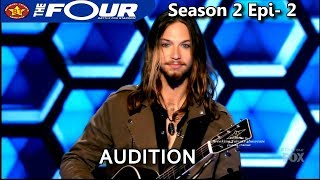 "Jesse Kramer ""Hallelujah"" Rock 'n' Roll Audition The Four Season 2 S2E2"