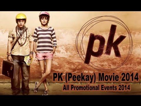 PK 2014 Promotion Events Full Video | Aamir Khan, Anushka Sharma, Sanjay Dutt, Sushant Singh