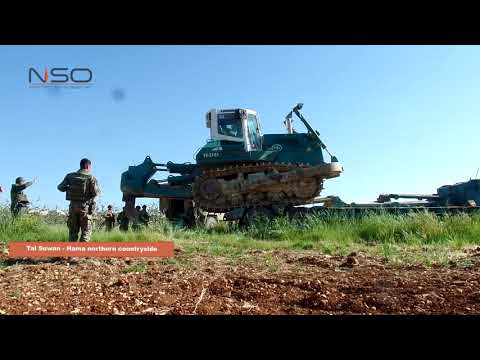 Turkish troops stationed in Hama countryside