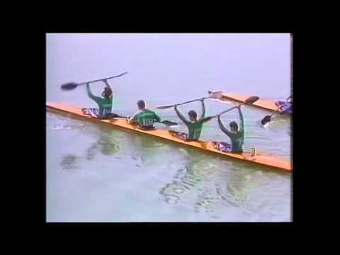 1988 Férfi K4-1000m Csipes Gyulay Ábrahám Hódosi 1 hely