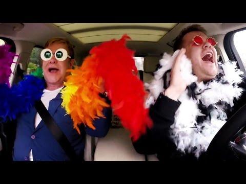 Elton John Joins James Corden for an Epic Round of Carpool Karaoke