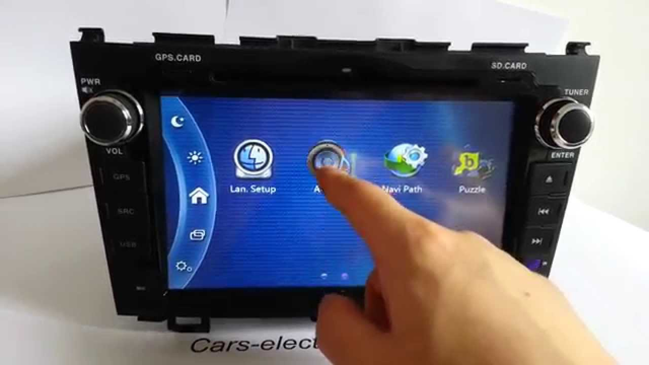 Double Din Honda Crv Dvd Radio Navigation Gps Touch Screen