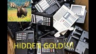 Scrapping Office Phones for Precious and Scrap Metals! -Moose Scrapper