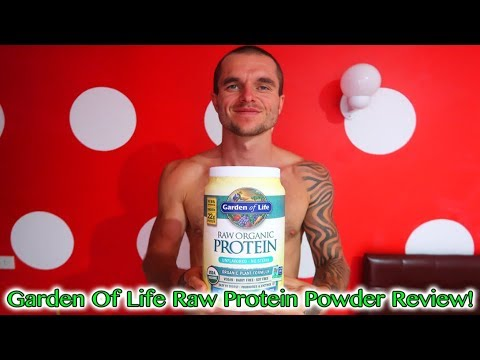 The Best Vegan Protein Powder - Garden Of Life Raw Organic Vegan Protein Powder Review!