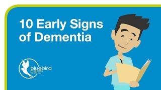 10 Early Signs of Dementia