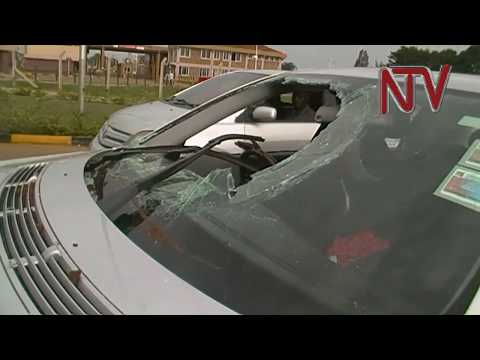 Ugandan car attacked in Kenyan election violence