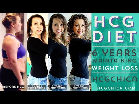 HCG Diet Results: Size 18 To Size 4 - 6 Years Maintaining HCG Weight Loss Anniversary