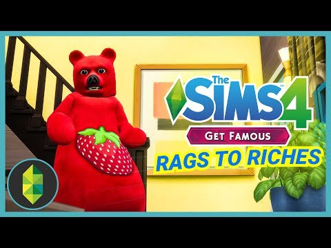 FLING WITH SEMAJ - Part 19 - Rags to Riches (Sims 4 Get Famous) thumbnail