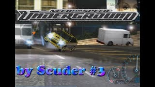 """Need For Speed Underground Прохождение часть 3 """"Клинический DRIFTер"""""""