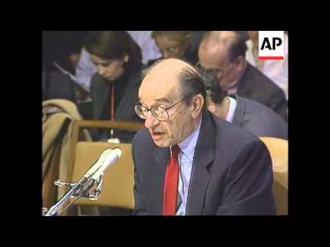 USA - Greenspan addresses Senate Budget Committee