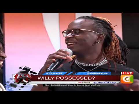 10 OVER 10 | Willy Paul adresses haters and fans
