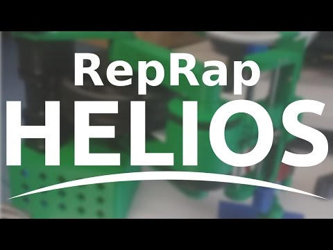 Introducing RepRap Helios (First Print)