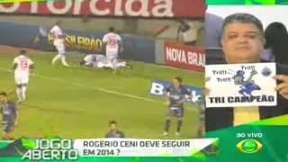 Jogo Aberto 04112013   DEBATE   Cruzeiro já é o Campeão Brasileiro