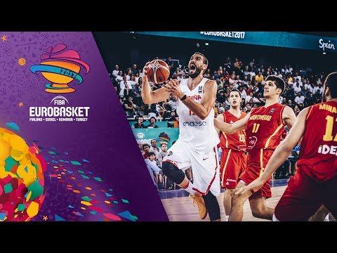 Spain v Montenegro - Highlights - FIBA EuroBasket 2017