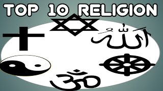 Top 10 major Religions of the World || Ranking 2021 || Most Popular Religion