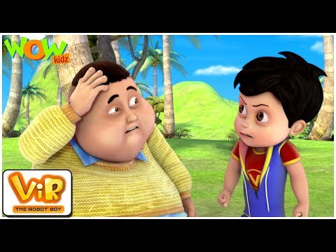 Coconuts Attack  Vir: The Robot Boy WITH ENGLISH, SPANISH & FRENCH SUBTITLES  WowKidz