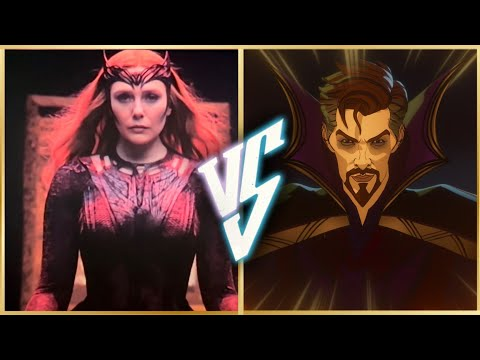 Dr Strange Vs Scarlet Witch | Superhero Showdown In Hindi | BlueIceBear
