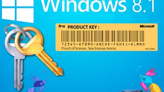 Como conseguir la clave de producto de Windows 8. (XP, 7 y 8.1)