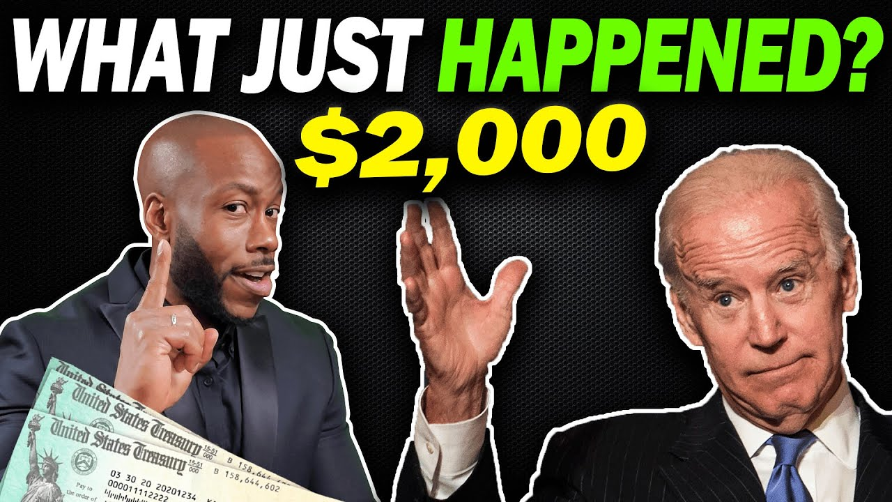 IMPORTANT UPDATE! $2000 4th Stimulus Check Update + Man Swallowed by Whale + Tax Refunds Delay