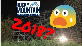 rmc hurler construction update track on site