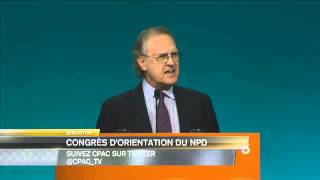 2016 NDP Convention - Stephen Lewis