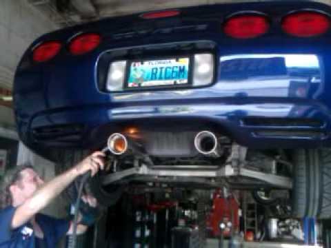 Borla Exhaust Install Corvette C5 Youtube