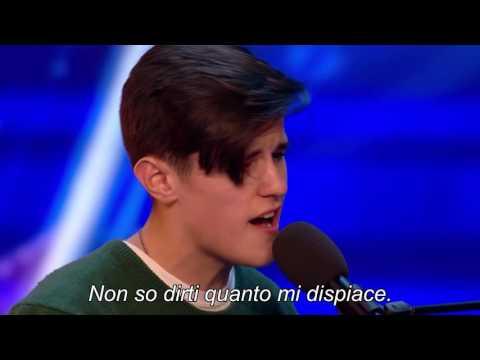 Reuben Gray - Lifeline  - Britain's Got Talent 2017 sottotitoli italiano ITA