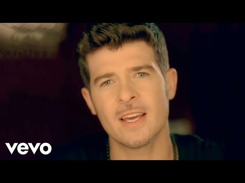 Robin Thicke - Can U Believe