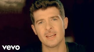 Watch Robin Thicke Can U Believe video