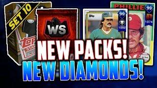 NEW PACKS + WORLD SERIES PACK! *NEW 99 DIAMONDS* MLB The Show 17 | Diamond Dynasty Pack Opening