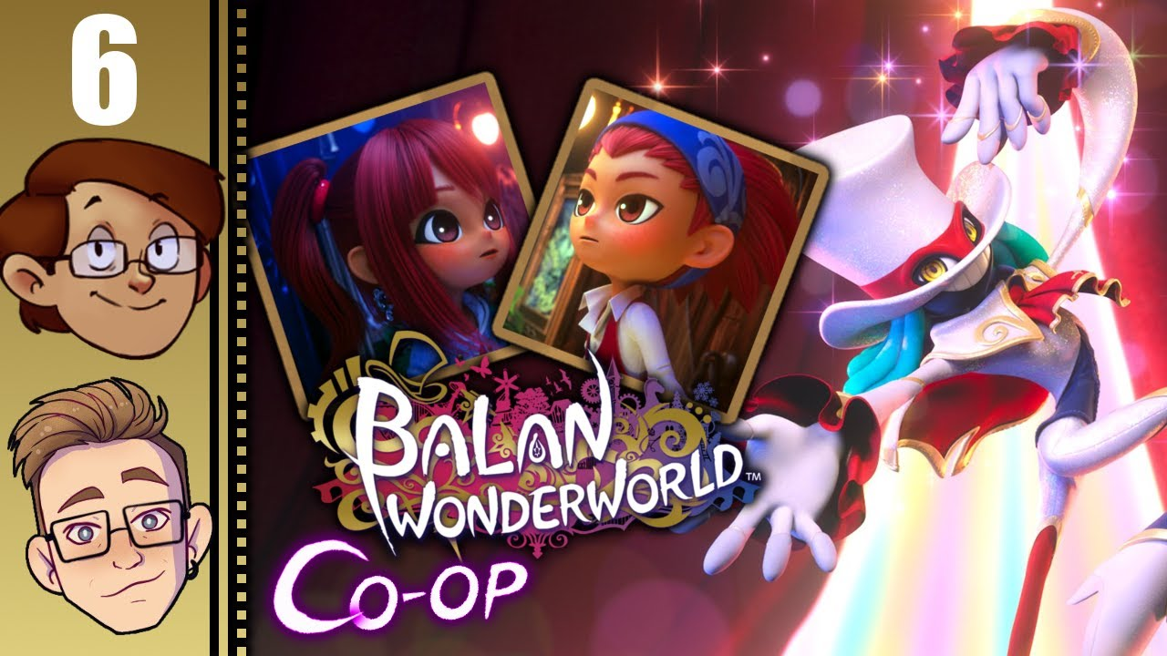 Let's Play Balan Wonderworld Co-op Part 6 - The Girl and the Kitten