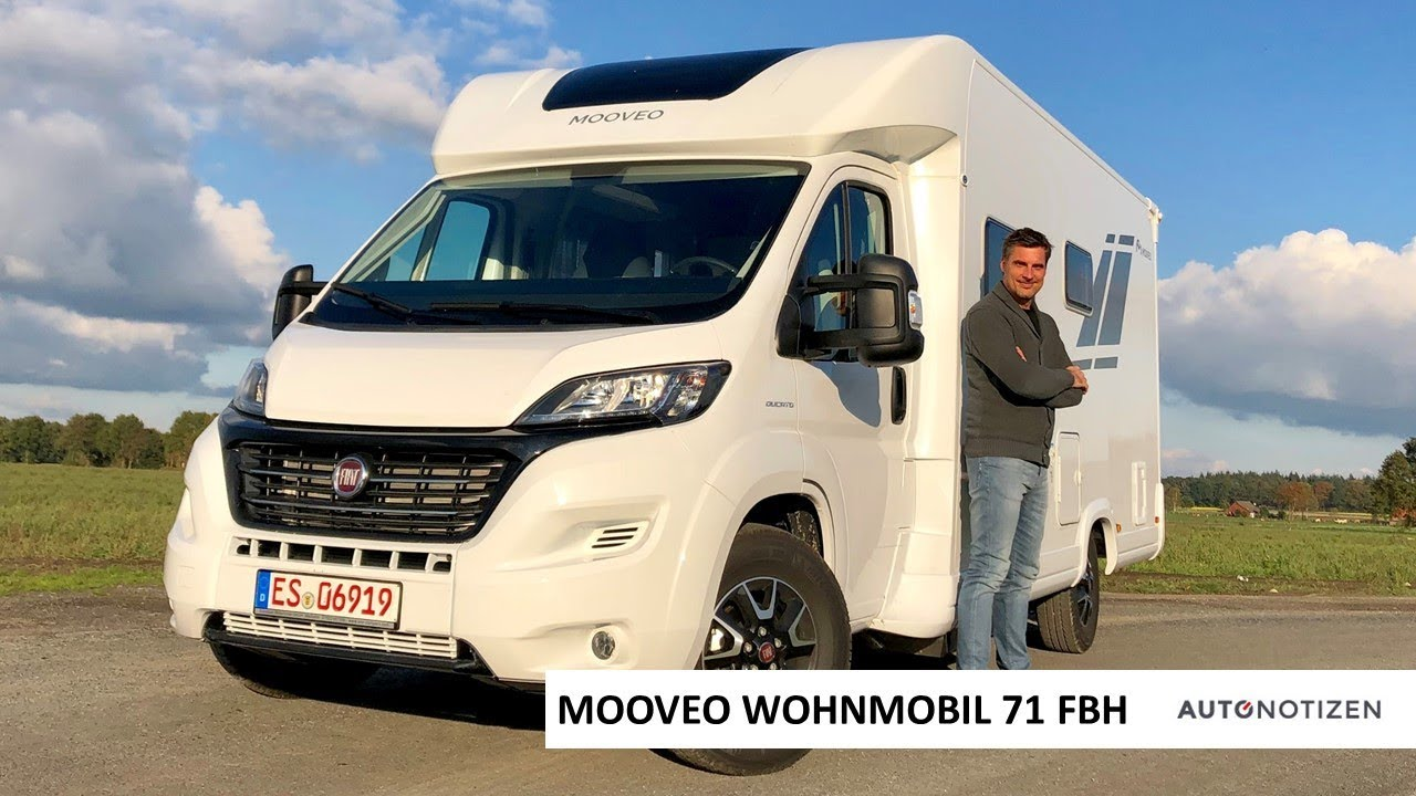 Mooveo Wohnmobil 10 FBH 10 auf Fiat Ducato: Review, Test, Vorstellung