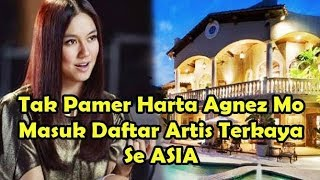 Menakjubkan ! Tak Banyak Yang Tau Ternyata Agnes Mo Masuk Daftar Artis Terkaya Se ASIA !