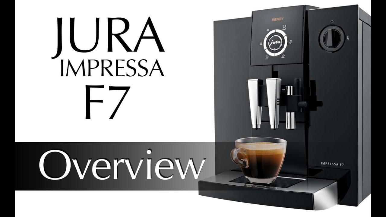 Jura Impressa F7 Super Automatic Espresso Machine Preview
