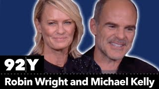 Netflix's House of Cards with Robin Wright, Michael Kelly, and Executive Producers