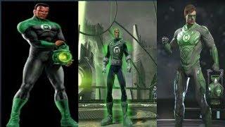 Evolution of Green Lantern in Games [2002 - 2017]