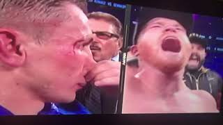 Canelo vs GGG 2 decision of the fight