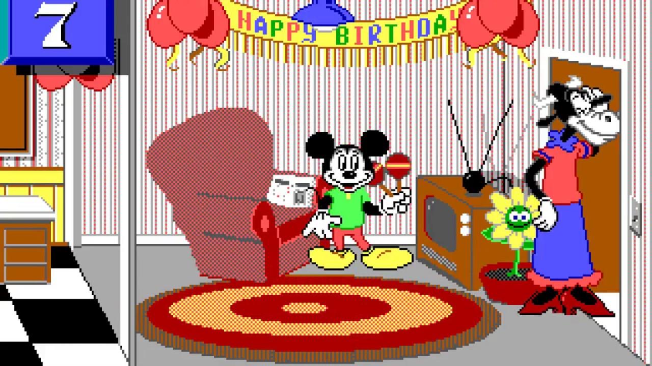 Amiga 500 Longplay 139 Mickey S 123 S The Big Surprise Party Youtube