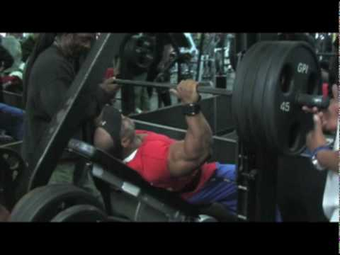 Heavy Incline Press With Dexter