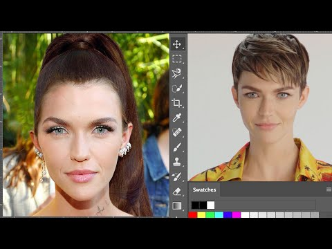Ruby Rose Photoshops Herself Into 7 Different Looks   Allure