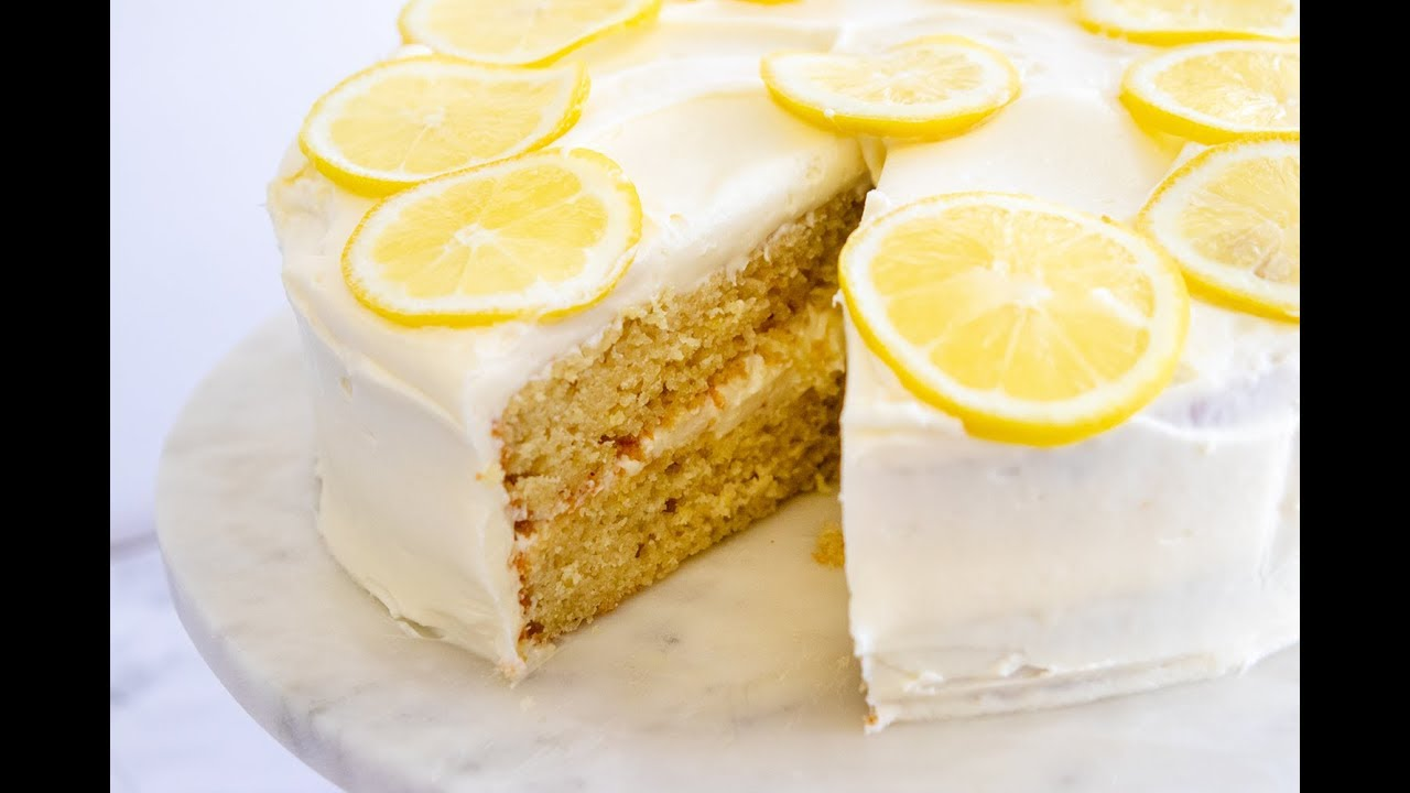 Italian Limoncello Cake Giada De Laurentiis Youtube