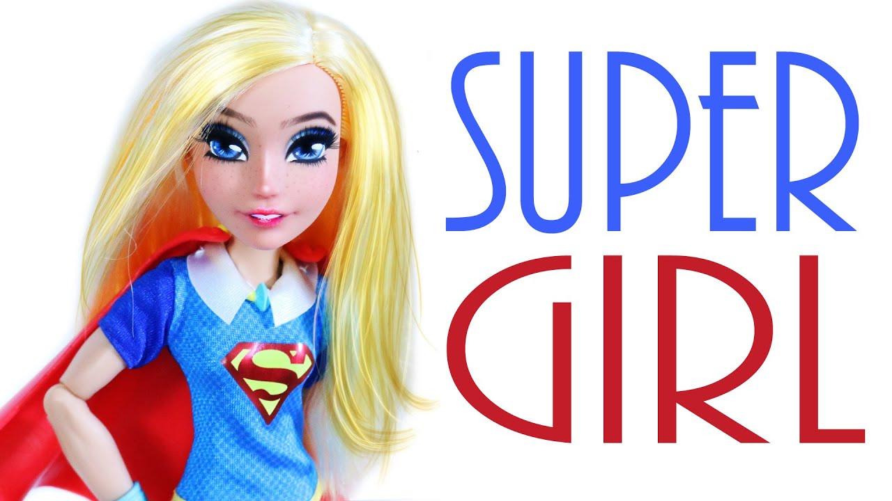 Super Girl Doll Repaint [ DC Superhero Girls ]