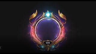 League Of Legends Animated Level Borders (1-500)