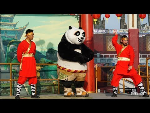 [4K] Dragon Warrior Training Show with...