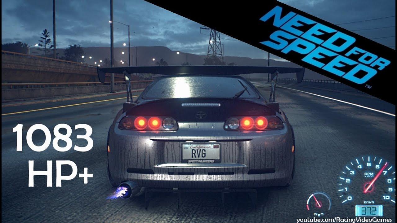 Toyota Supra 2015 >> Need For Speed 2015 Toyota Supra 1083hp Top Speed Run Gameplay 1000 Horse Power Ps4