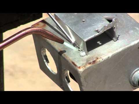aluminum brazing soldering using alumiweld welding rods
