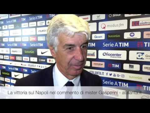 Atalanta-Napoli, il commento di Gian Piero Gasperini