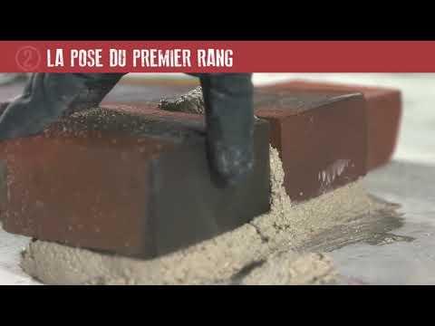 Les bons gestes en maçonnerie : briques de parement