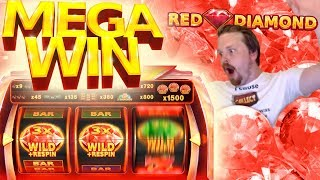 Red Diamond MEGA WIN on €10 bet
